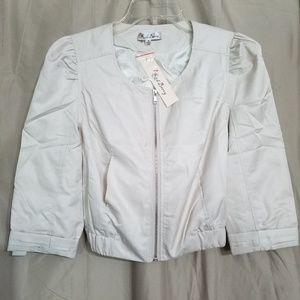 NWT Red Berry crop jacket